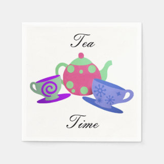 Tea Time Paper Napkin
