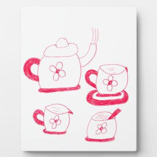 Tea Time Photo Plaque