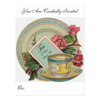 Tea Time Postcard