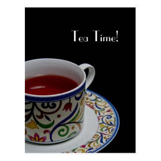 Tea Time Postcard Invitations