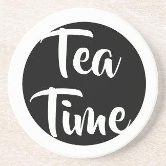 Tea Time! Sandstone Coaster