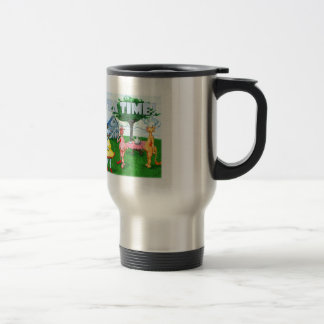 Tea Time! Stainless Steel Travel Mug