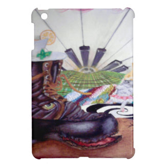 Tea time surrealism painting iPad mini covers