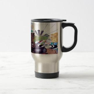 Tea time surrealism painting mugs