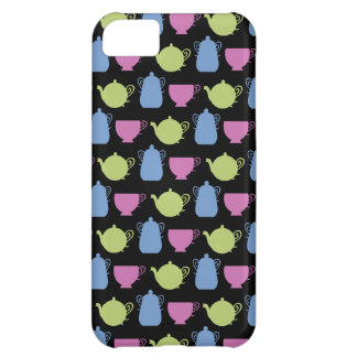 tea time: tea pots and cups iPhone 5C covers