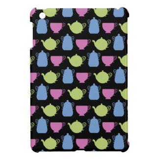 tea time: tea pots and cups iPad mini cases