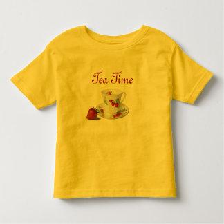 Tea Time toddler shirt