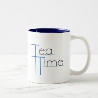 Tea Time Two-Tone Coffee Mug
