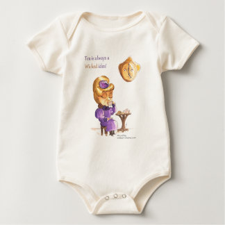Tea Time Wicked Witches Baby Bodysuit