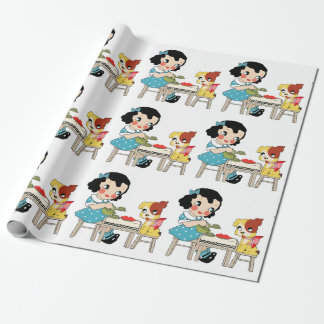 Tea Time Wrapping Paper