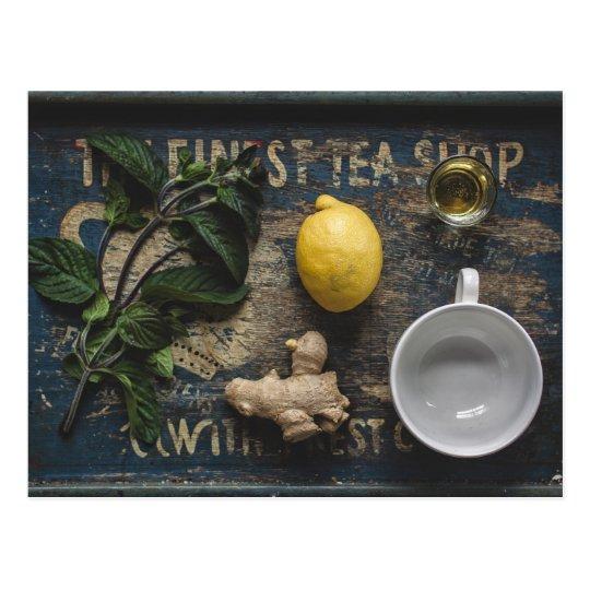 Tea Tray Postcard