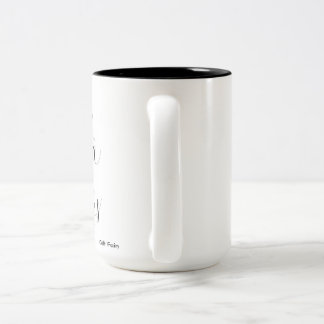 Tea & Warm Socks Two-Tone Coffee Mug