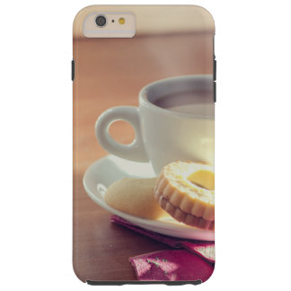 Tea with biscuit tough iPhone 6 plus case