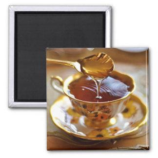 Tea With Honey Magnet