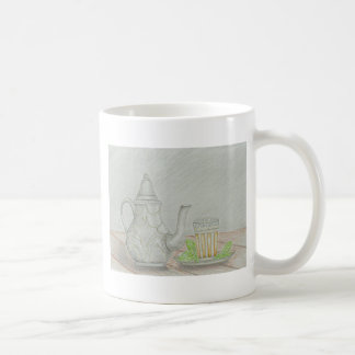 tea with mint coffee mug