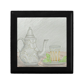 tea with mint gift box