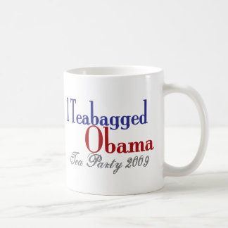 Teabag Obama (Tea Party 2009) Mugs