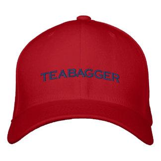 TEABAGGER EMBROIDERED HAT