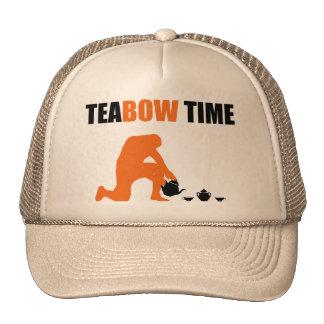 Teabow Time Tea Set Football Prayer Cap