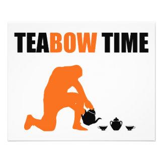 Teabow Time Tea Set Football Prayer Full Color Flyer