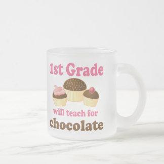 Teach 1st Grade For Chocolate Coffee Mugs