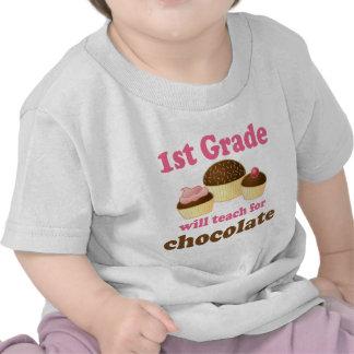 Teach 1st Grade For Chocolate T Shirt
