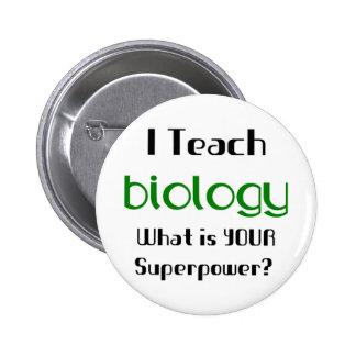Teach Biology 6 Cm Round Badge