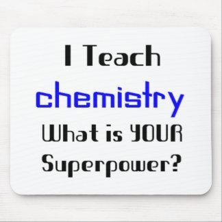 Teach Chemistry Mouse Pad