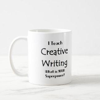 Teach creative writing coffee mug