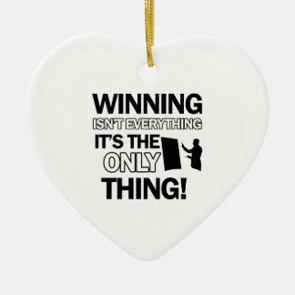 teach design ceramic heart decoration