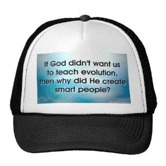 Teach Evolution Cap