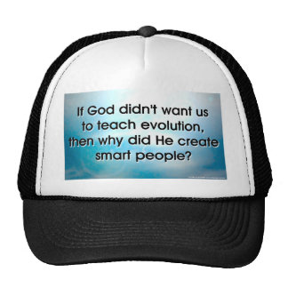 Teach Evolution Hats