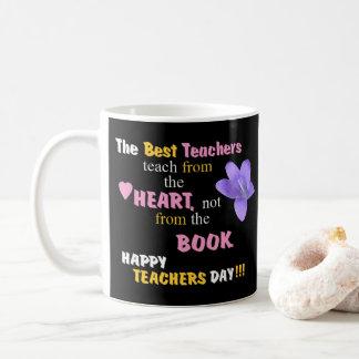 Teach From The Heart Coffee Mug