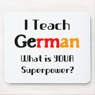 Teach german mouse pad