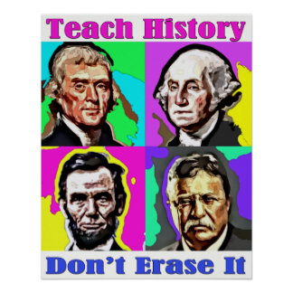 Teach History Poster
