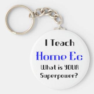 Teach home ec key ring
