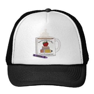 teach kindergarten hats
