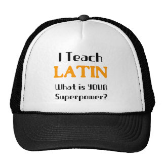 Teach Latin Cap