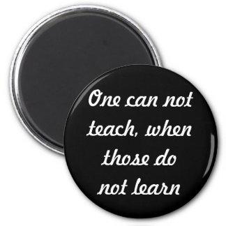 Teach & learn 6 cm round magnet