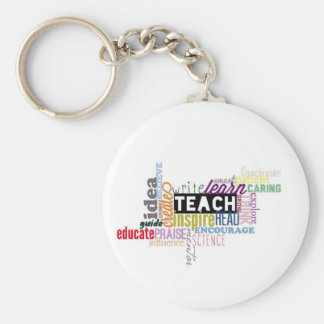 Teach. Learn. Grow. Key Ring
