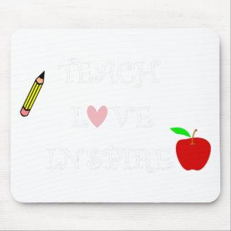 teach love inspire2 mouse pad