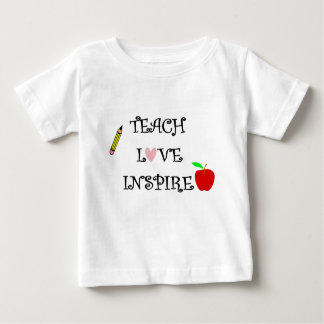 teach love inspire baby T-Shirt