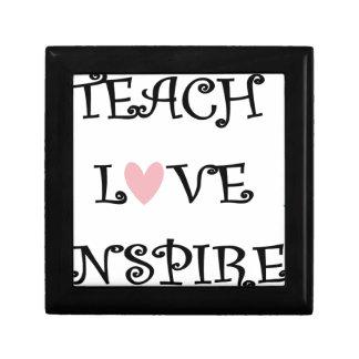 teach love inspire gift box
