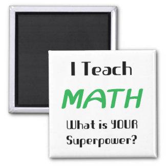 Teach math fridge magnets