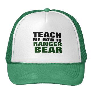 Teach Me How To Ranger Bear Mesh Hats