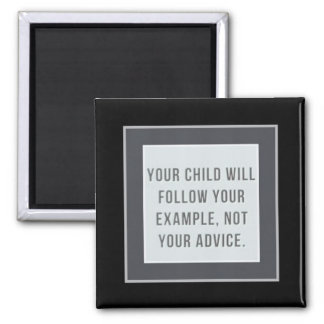 Teach my child 2 inch square magnet