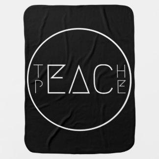 Teach Peace Baby Blanket