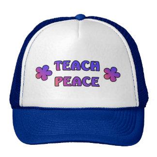 Teach Peace Cap