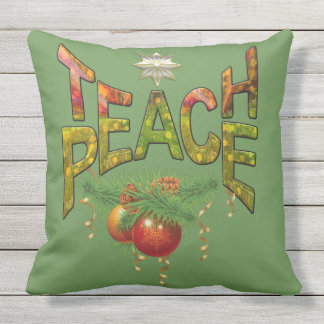 Teach Peace Cushion