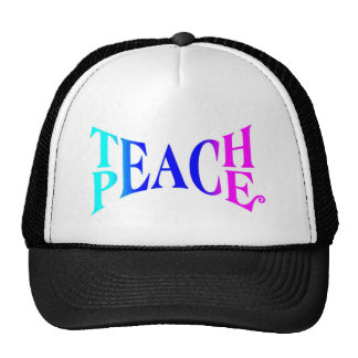 Teach Peace Good Vibes! Cap